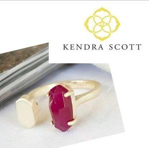 Kendra Scott ■ Berry Pryde Open Ring